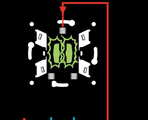 Схема подключения светодиода