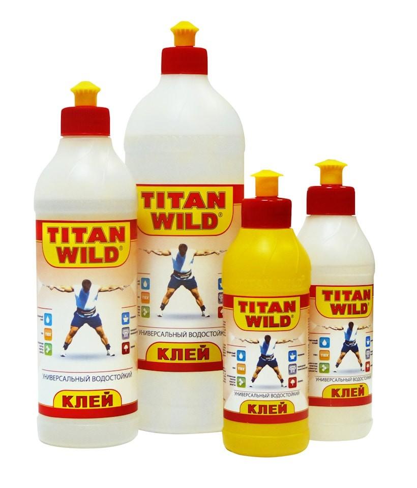 Как сделать клей титан