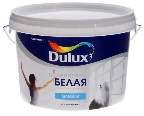 Краска Dulux цвет белый 2.5 л