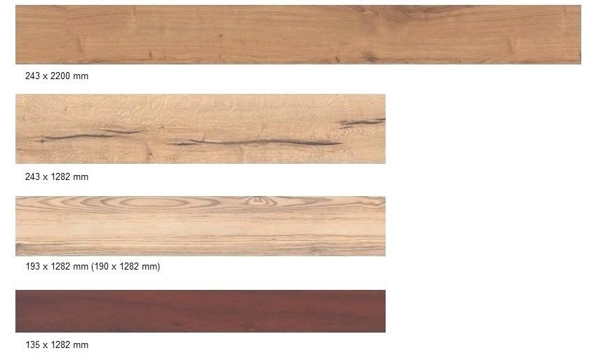 Размеры панелей ламината, выпускаемого фирмой Haro (Германия)