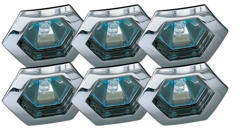 Встраиваемые влагозащищенный светильник Premium Line Hexa 99556