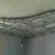 Пример каркаса многоуровневого гипсокартонного потолка