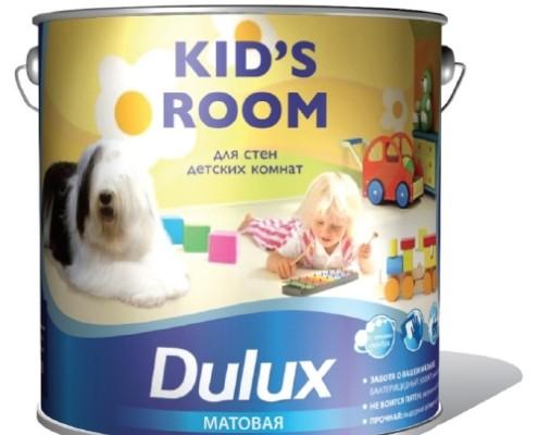 Краска для потолка dulux Kids Room WO