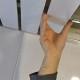 Монтаж алюминиевых панелей реечного потолка (фото)