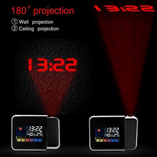 Nixie электронные настольные часы с проекцией времени