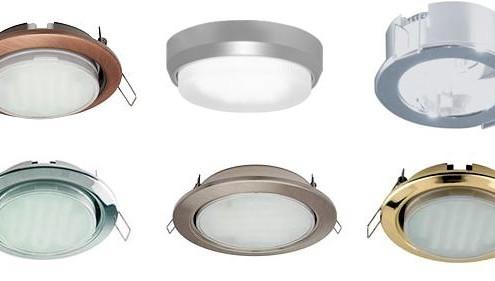 Галогенная лампа (галогенка) в точечном светильнике