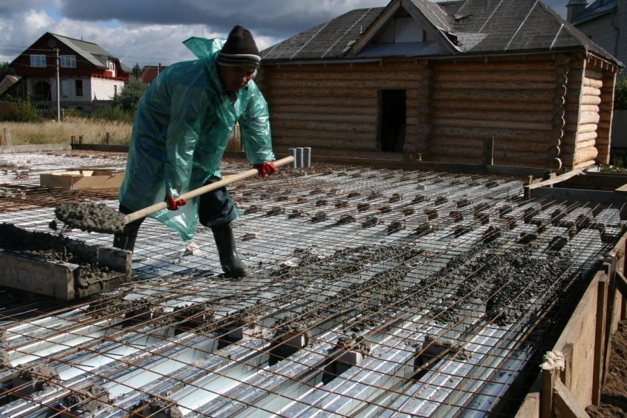Заливка бетонных перекрытий методом несъёмной опалубки