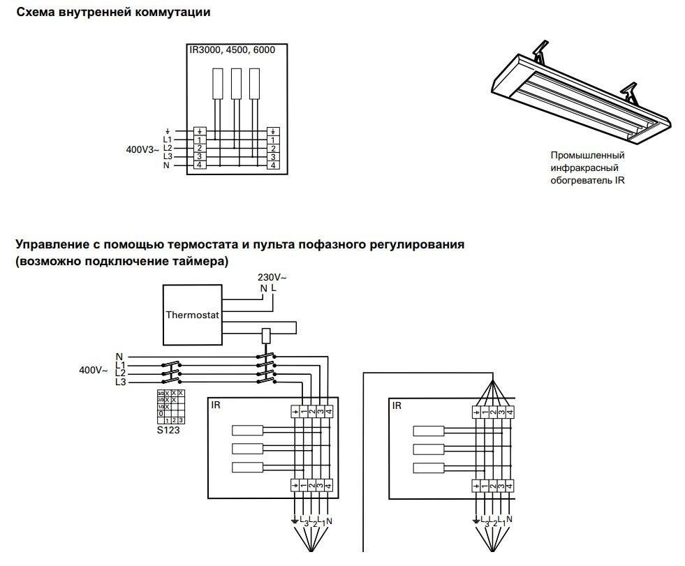 Электросхемы для IR