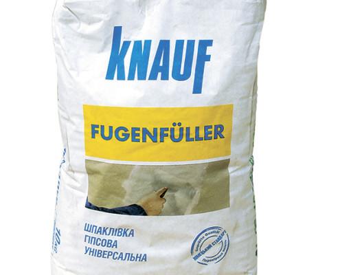 Шпаклевка Knauf «Фугенфюллер» 25 кг