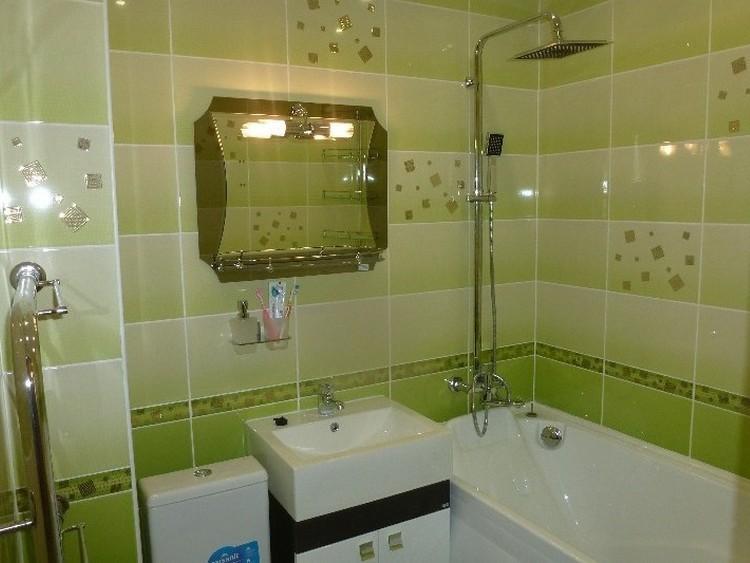 Бюджетная ванная комната