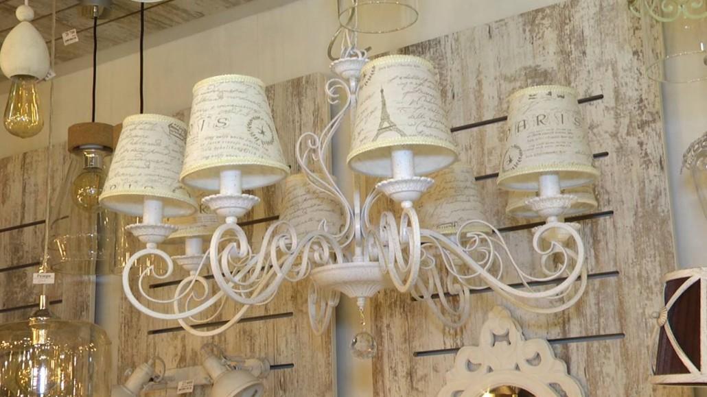 Люстры, светильники, лампы в стиле прованс Eglo